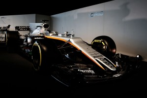 The Sahara Force India F1 VJM10. Sahara Force India F1 VJM10 Launch, Wednesday 22nd February 2017. Silverstone, England.