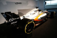 Sahara Force India F1 VJM10. Sahara Force India F1 VJM10 Launch, Wednesday 22nd February 2017. Silverstone, England.