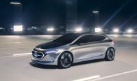 Weltpremiere auf der IAA 2017 in Frankfurt - Mercedes-Benz präsentiert sein erstes voll-elektrisches EQ Konzeptfahrzeug im Kompaktsegment. World première at the 2017 International Motor Show (IAA) in Frankfurt - Mercedes-Benz presents the first, fully electric EQ concept vehicle in the compact car segment.