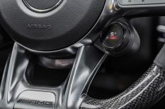 Mercedes-AMG GT 63 S 4MATIC+ 4-Türer Coupé, AMG Carbon-Paket, , Interieur: Leder Exklusiv Nappa DINAMICA / schwarz mit gelber Kontrastziernaht, Zierteil: AMG Zierelemente Carbon;Kraftstoffverbrauch kombiniert: 11,2 l/100 km; CO2-Emissionen kombiniert: 256 g/km* (vorläufige Daten) Mercedes-AMG GT 63 S 4MATIC+ 4-Door Coupé, AMG Carbon-packet, Interior: Leather exclusive nappa DINAMICA / black with yellow contrast ornamental seam, Body trim: AMG body trim carbon;Fuel consumption combined: 11,2 l/100 km; CO2 emissions combined: 256 g/km* (provisional data)