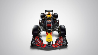 Max Verstappen's (#33) Aston Martin Red Bull Racing TAG-Heuer RB14 seen during the 2018 studio shoot. // David Clerihew/Red Bull Content Pool // AP-1UVT16JE91W11 // Usage for editorial use only // Please go to www.redbullcontentpool.com for further information. //