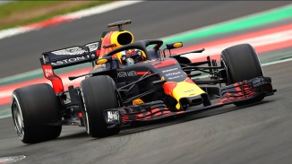 MONTMELO, SPAIN - FEBRUARY 26: Daniel Ricciardo of Australia driving the (3) Aston Martin Red Bull Racing RB14 TAG Heuer on track during day one of F1 Winter Testing at Circuit de Catalunya on February 26, 2018 in Montmelo, Spain. (Photo by Mark Thompson/Getty Images) // Getty Images / Red Bull Content Pool // AP-1UVTD54E11W11 // Usage for editorial use only // Please go to www.redbullcontentpool.com for further information. //