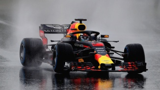 MONTMELO, SPAIN - FEBRUARY 28: Daniel Ricciardo of Australia driving the (3) Aston Martin Red Bull Racing RB14 TAG Heuer on track during day three of F1 Winter Testing at Circuit de Catalunya on February 28, 2018 in Montmelo, Spain. (Photo by Mark Thompson/Getty Images) // Getty Images / Red Bull Content Pool // AP-1UWH3KXUD2111 // Usage for editorial use only // Please go to www.redbullcontentpool.com for further information. //