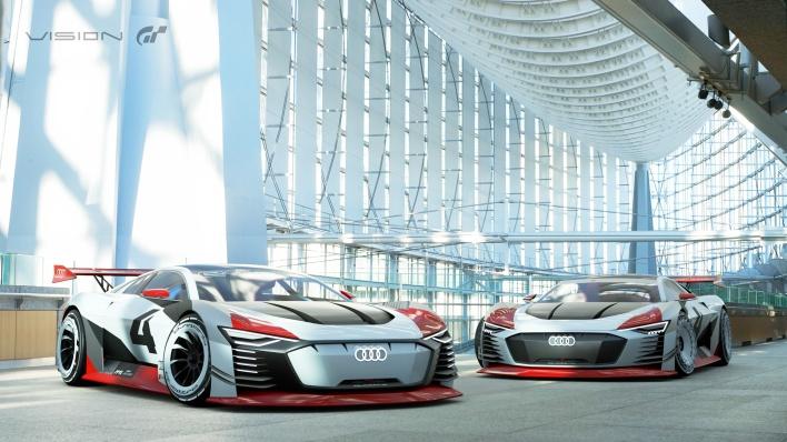 Audi e-tron Vision Gran Turismo, Audi Vision Gran Turismo, GT Sport