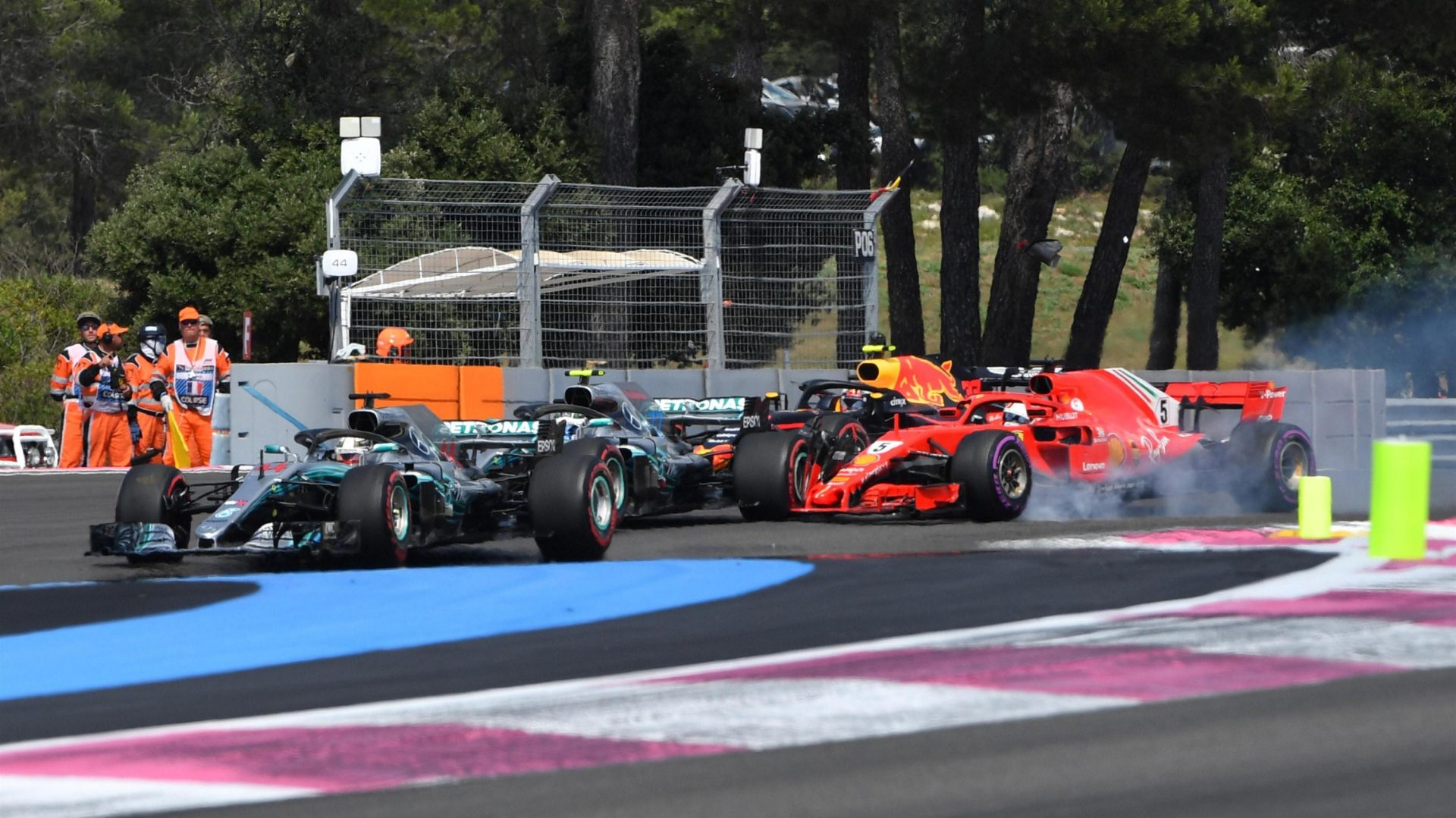 Hamilton Reigns Supreme In France F1 2018 The Auto Loons Vettel Expects Indian Circuit To Be Secondfastest Track Mark Sutton Images