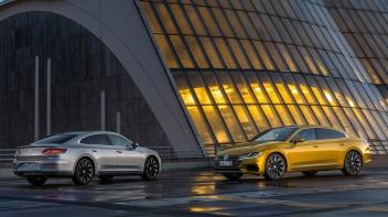 Der neue Volkswagen Arteon Elegance und Arteon R-Line