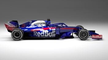 Scuderia Toro Rosso STR14 Editors Note: Computer generated image // Digital Lighthouse / Red Bull Content Pool // AP-1YDGC5NV51W11 // Usage for editorial use only // Please go to www.redbullcontentpool.com for further information. //