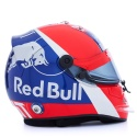 Daniil Kvyat's 2019 Helmet // Dustin Snipes/Red Bull Content Pool // AP-1YDGXTKP11W11 // Usage for editorial use only // Please go to www.redbullcontentpool.com for further information. //