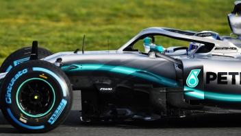 Mercedes-AMG Petronas Motorsport, F1, Silverstone Valtteri Bottas, Shakedown, F1 W10 EQ Power+ Mercedes-AMG Petronas Motorsport, F1, Silverstone Valtteri Bottas, Shakedown, F1 W10 EQ Power+