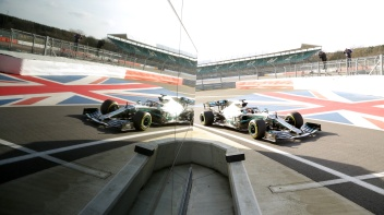 Mercedes-AMG Petronas Motorsport, F1, Silverstone, Lewis Hamilton, Shakedown, F1 W10 EQ Power+ Mercedes-AMG Petronas Motorsport, F1, Silverstone, Lewis Hamilton, Shakedown, F1 W10 EQ Power+