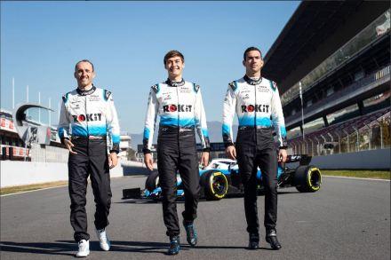 ROKiT Williams Racing - Driver Lineup