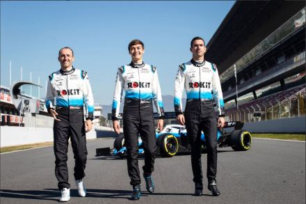 ROKiT Williams Racing - Driver Lineup