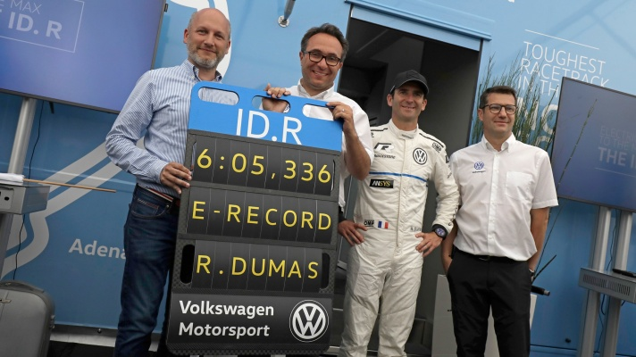ID.R e-record Nordschleife