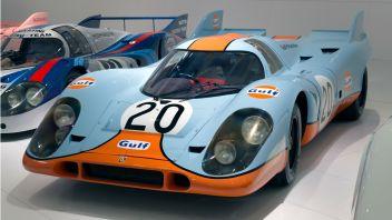Porsche_917K_(Gulf)_front-left_Porsche_Museum