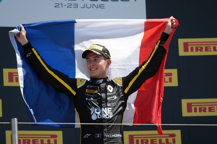 Motor Racing - FIA Formula 2 Championship - Sunday - Paul Ricard, France