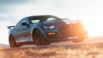 The all-new Shelby GT500–the pinnacle of any pony car ever engineered by Ford Performance–delivers on its heritage with more than 700 horsepower for the quickest street-legal acceleration and most high-performance technology to date ever offered in a Ford Mustang.