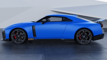 Nissan-GT-R50-by-Italdesign-production-rendering-Blue-SIDE