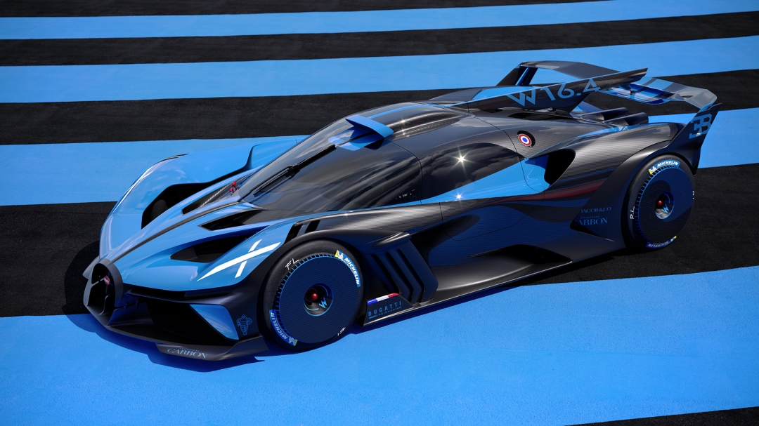 This Is The Bugatti Bolide A Derestrcited Trackday Project Car Based On The Chiron The Auto Loons